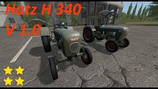 """[""""Mod Vorstellung Farming Simulator Ls17"""", """"Nostalgie"""", """"Hatz H 340""""]"""