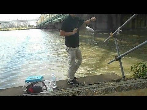 夏の終わりのテナガエビ釣り