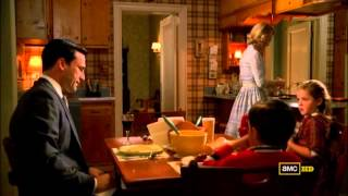 Mad Men Season 2 , Don and betty fight !