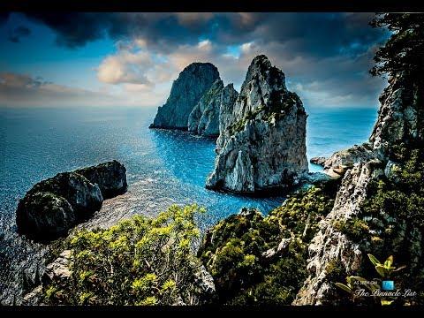 ✔ Beautiful Isle of CAPRI Italy WALK! ~ POV Ocean, Shops, Cafe's, Historic Buildings