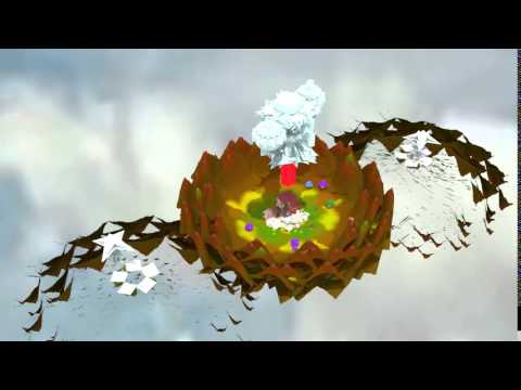 Construction/Animation - Spaceship over Mushroom Grow-Op (Work In Progress)
