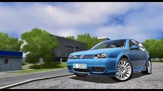 City Car Driving 1.5.5 - Volkswagen Golf IV R32   + Download [LINK]    1080p & G27