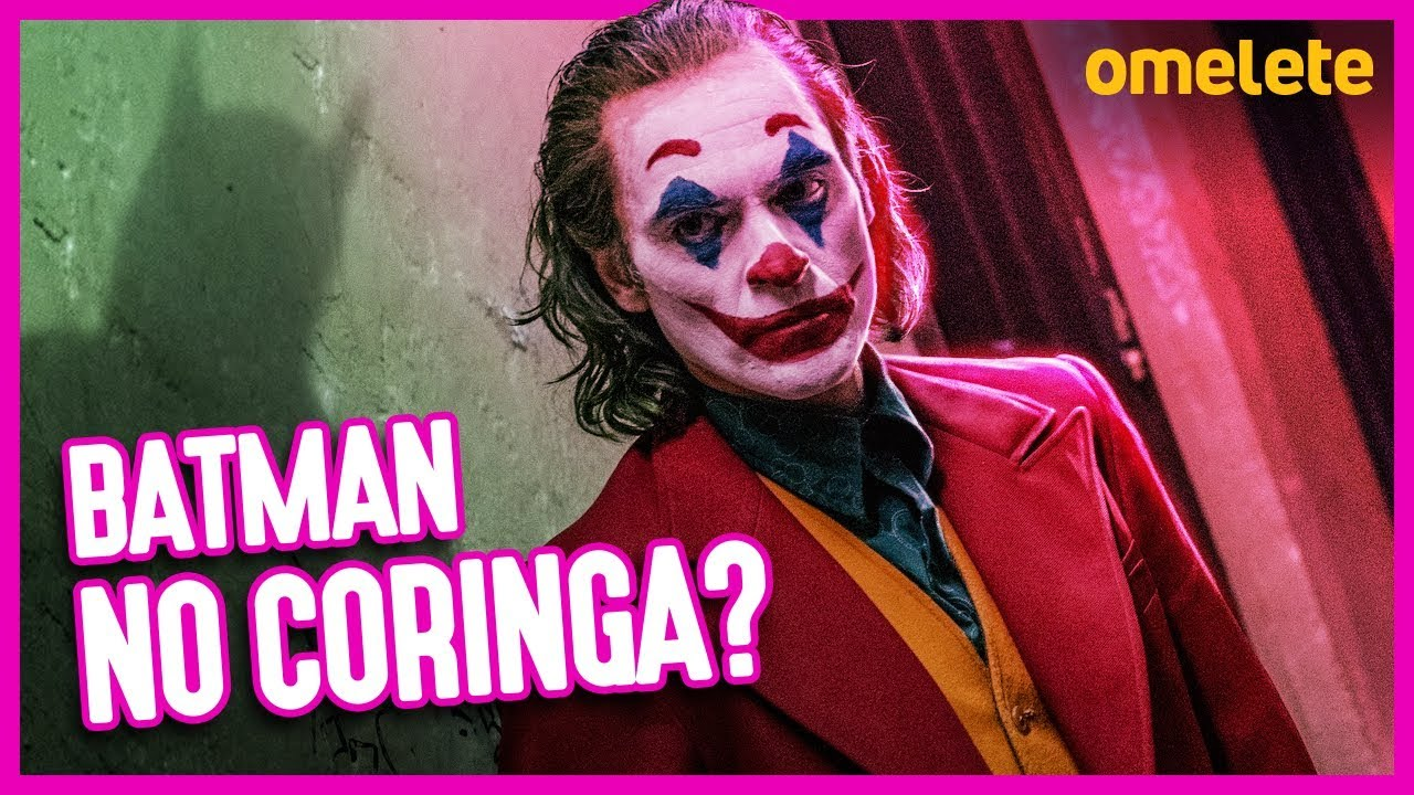 BATMAN NO CORINGA? MISTÉRIOS DO FILME REVELADOS