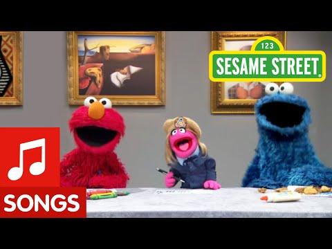 Sesame Street: Make Your Own Art Song