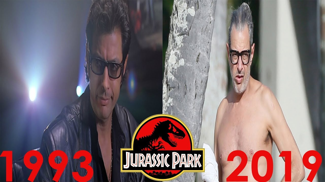 Jurassic Park (1993) Cast: Then and Now ★2019★ - YouTube