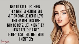 Alicia Moffet - Why Do Boys Lie (Lyrics)