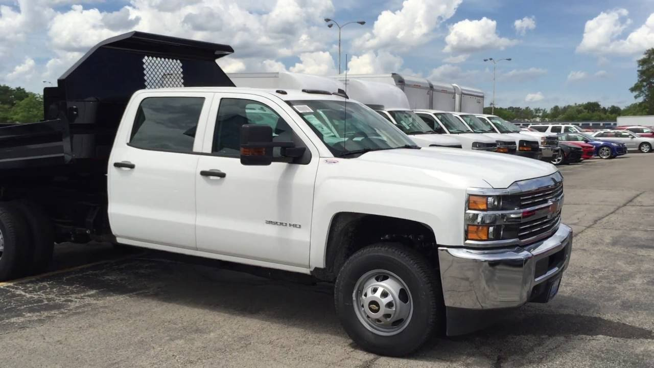2016 Silverado Crew Cab Dump Truck For Wheeling Bill Stasek Chevrolet