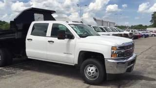 2016 Silverado Crew Cab Dump Truck for sale Wheeling : Bill Stasek Chevrolet
