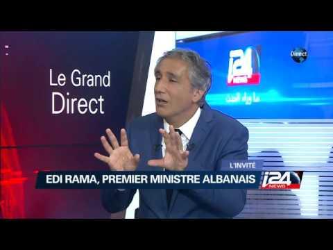 Edi Rama, premier ministre albanais est notre invité