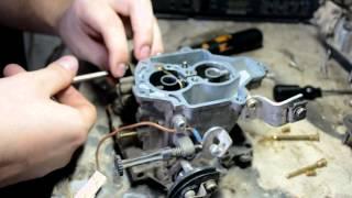 видео Карбюратор ВАЗ 2108 - как он устроен?
