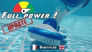 Aspirateur piscine intex : la puissance maximale !