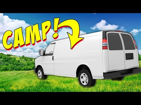 CAMP IN A VAN