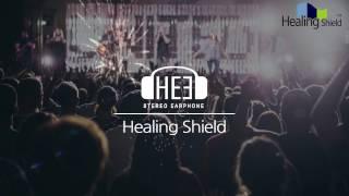 힐링쉴드  HE3 핸즈프리 트위스터 메탈 오픈형 이어폰