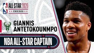 Giannis Antetokounmpo 2020 All-Star Captain | 2019-20 NBA Season