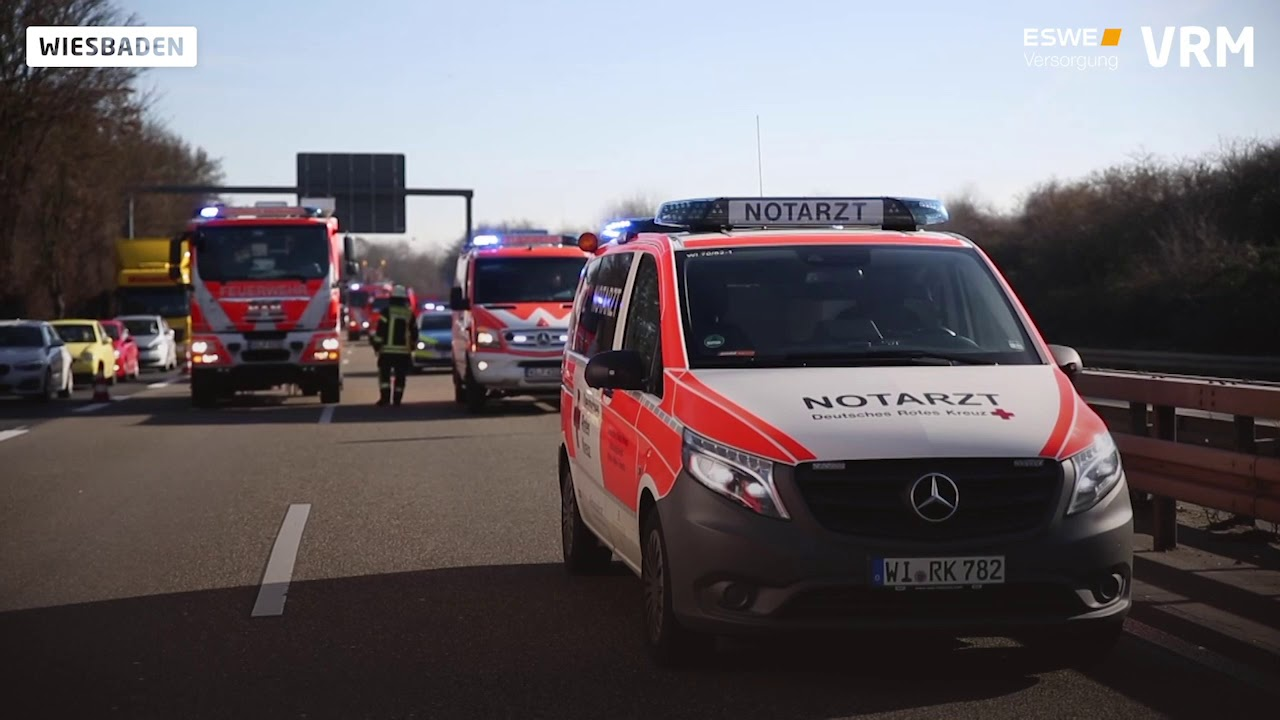 Unfall A66 Wiesbaden Heute