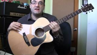 Download Sigma 000MC-1STE Acoustic Guitar Review MP3 song and Music Video
