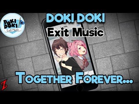 Taking a dive. | Doki Doki Exit Music - Ending