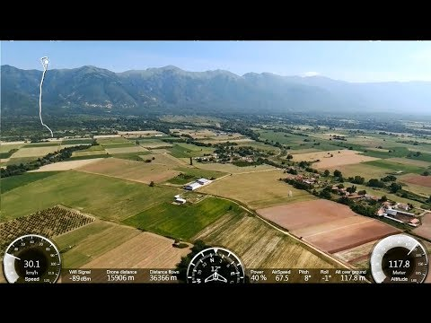 PARROT DISCO: 70Km  Long Range Flight