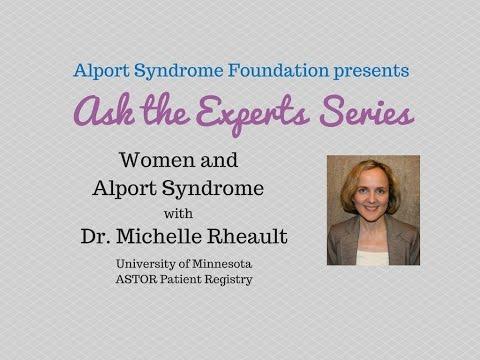 Ask the Experts Series: Women and Alport Syndrome