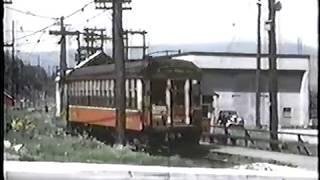 Down Memory Lane Interurban Tram footage 1950-51 Vancouver BC