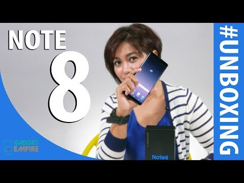 Unboxing Samsung Galaxy Note 8 Indonesia - Beda Banget!