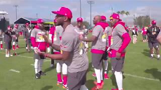 Jalen Ramsey Arguing With ALL DBs At Pro Bowl