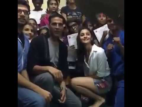 Akshay Kumar's Women Self Defence Training Center, Mumbai Part 1