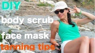 DIY: Coconut Poppy Seeds Body Scrub, Antiage Avocado Face Mask: prepare, protect and prolong sun tan Thumbnail