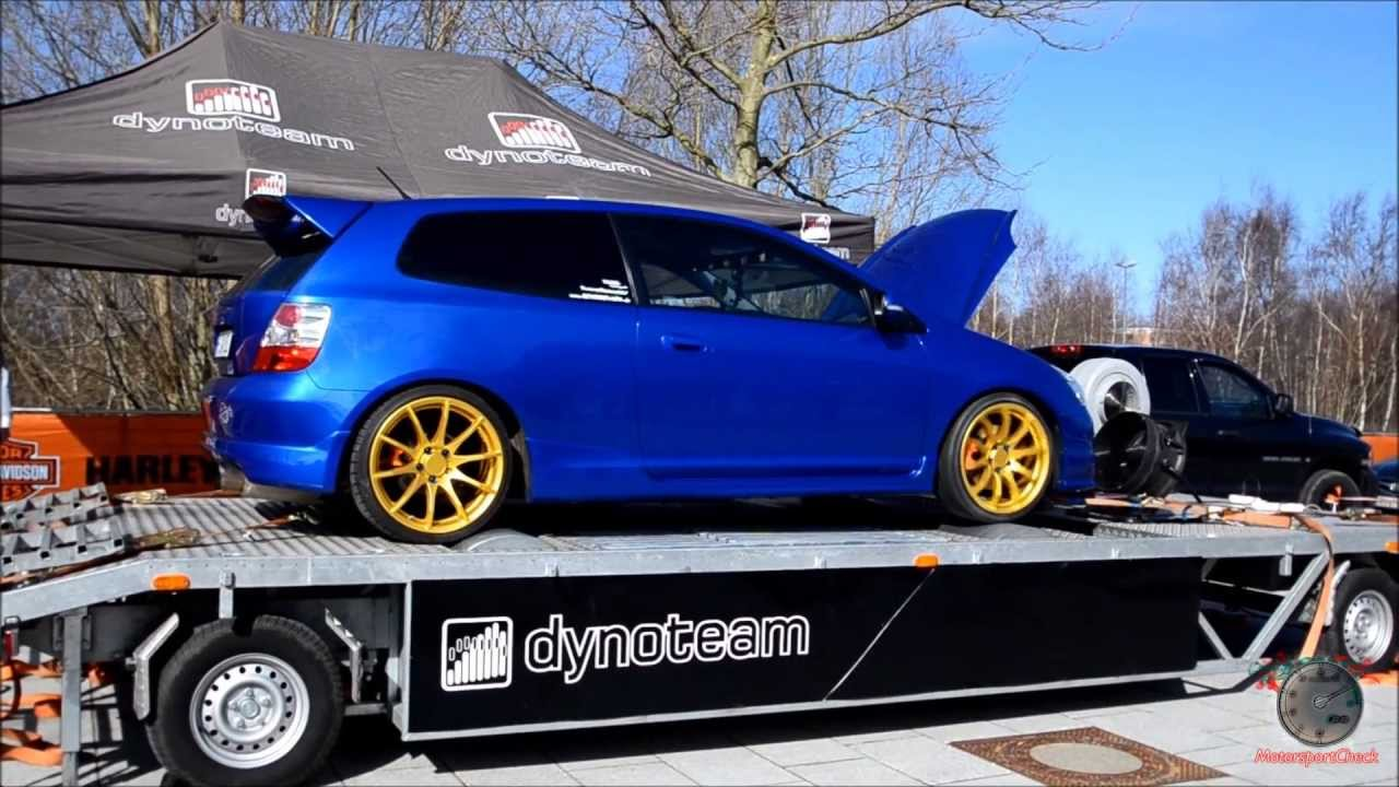honda civic ep3 type r on dyno sound youtube. Black Bedroom Furniture Sets. Home Design Ideas
