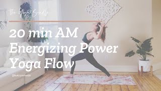 20 minute AM Energizing Yoga Flow