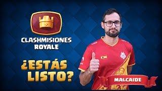 Clashmisiones Royale con Malcaide: ¡Jugando el Torneo Mundial!