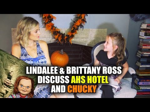 Lindalee & Brittany Ross talk AHS Hotel & Chucky
