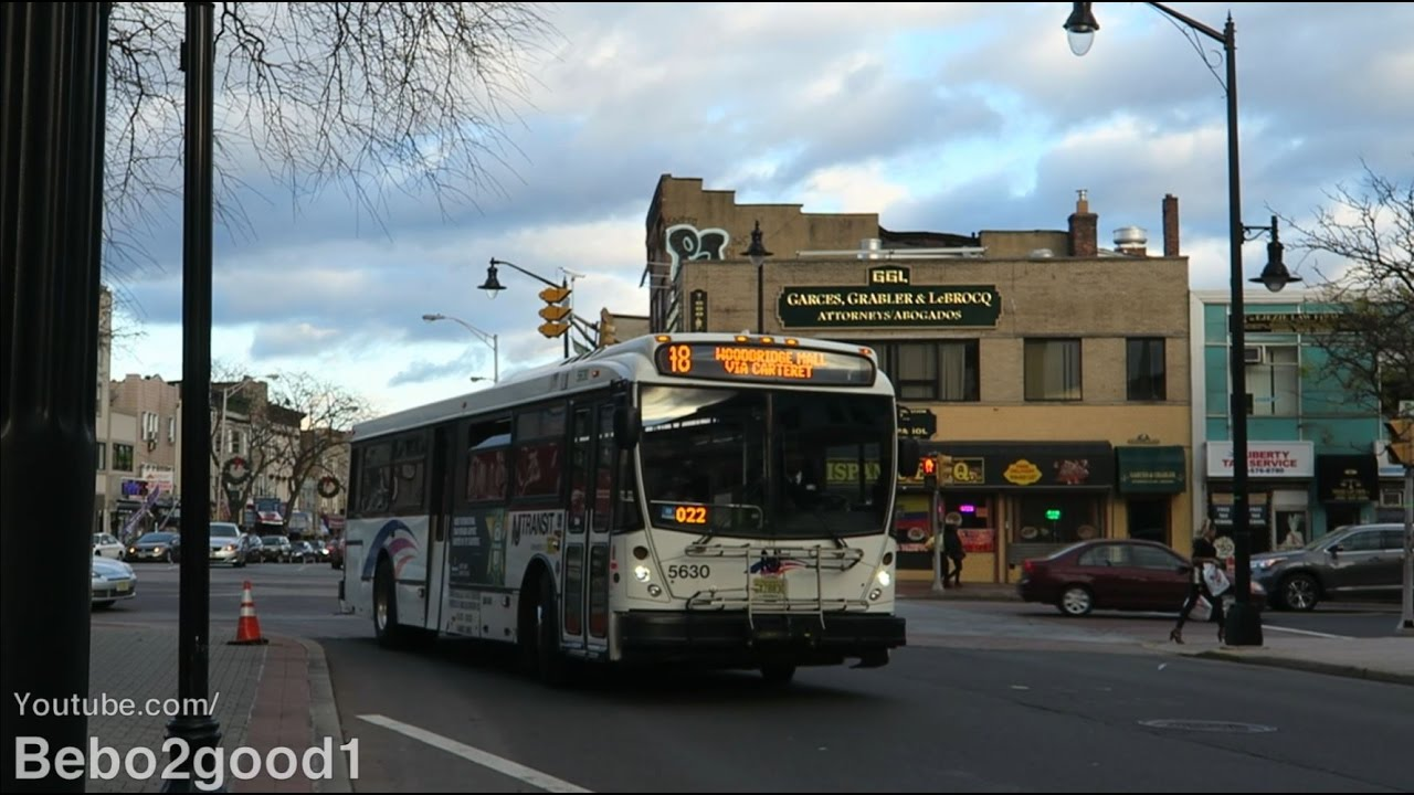 Nj Transit Bus Nabi 40sfw Route 48 At Rahway Ave Amp Broad
