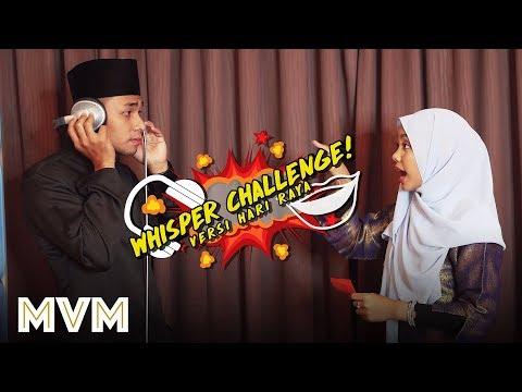 Syafiq Farhain & Sarah Suhairi - Whisper Challenge!