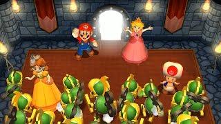 Mario Party 9 - Mecha Choice and Other Minigames (Mario vs Rival)| Cartoons Mee
