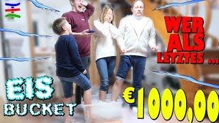 Wessen Füße ERFRIEREN ZULETZT ... 1000,00 EURO  Ice Bucket Extreme 😨 KRASS TipTapTube 😨