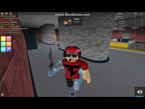 (ROBLOX)ASSASSIN!FLYING MAN?Roblox funny moments