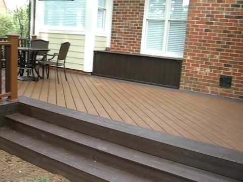Trex Transcends Composite Deck And Rail Under Covered