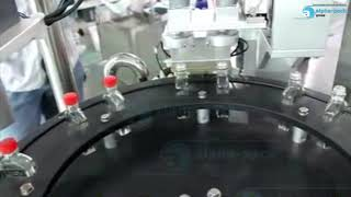 Automatic Filling  Capping Packing Machine 9888 for Two Lane Vacuum Filling