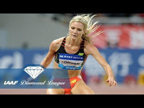 Emma Coburn's shock steeplechase win in Shanghai in 2014 - Flashback