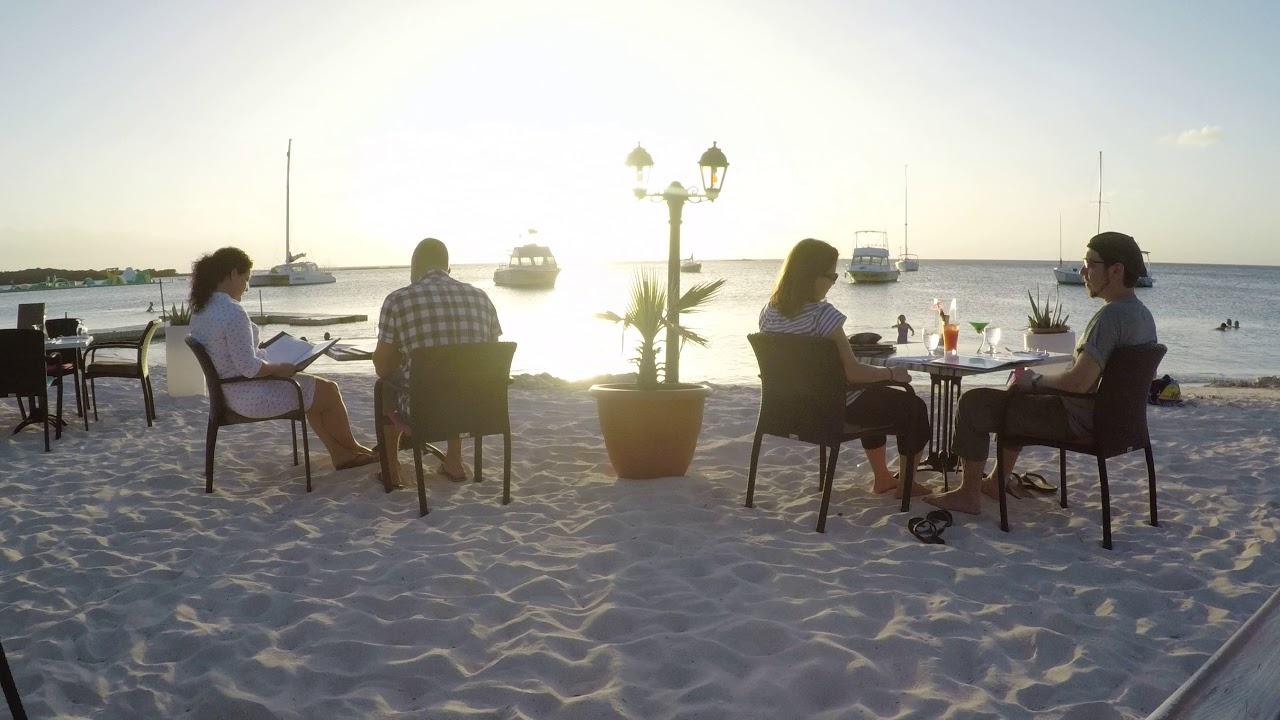 Barefoot On The Beach Aruba You