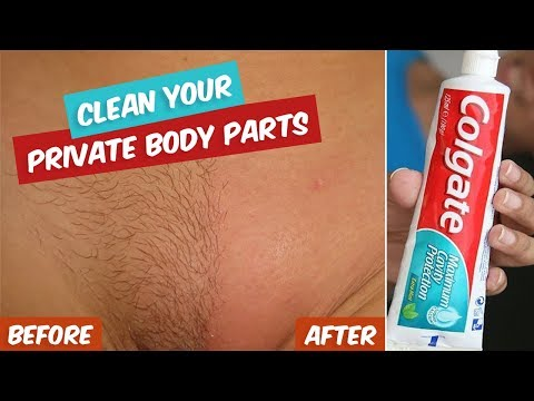 Amazing! Clean your Private Body Parts | Remove Unwanted Body Hairs | Easy Home Remedy | GlobalFacts