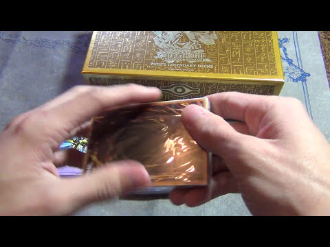 Yugioh Yugi's Legendary Decks Box Opening!!!