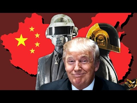 Donald Trump ft. Daft Punk - China, China, China, China