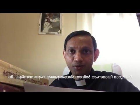വി.  കുര്ബാനയുടെ അത്ഭുതങ്ങള്: നാവില് മാംസമായി മാറുമോ?