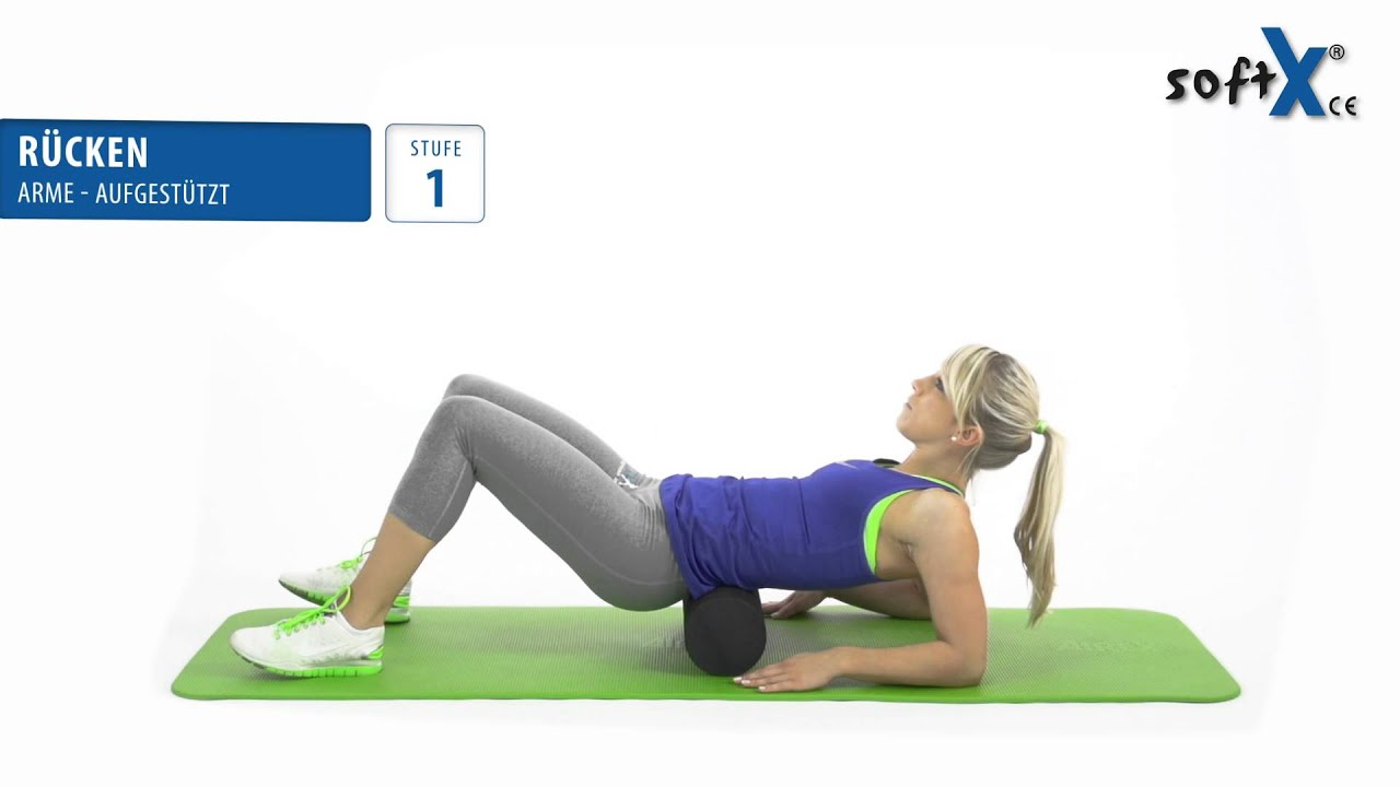 softX® Faszien-Training_Massage - Rücken - YouTube