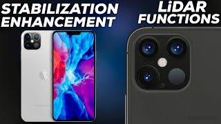 iPhone 12 Pro Stabilization Improvements + LiDAR Design