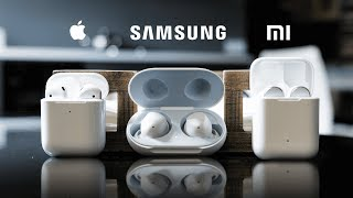 Wireless Battle: Airpods 2 vs. Samsung Galaxy buds vs. Xiaomi Airdots Pro