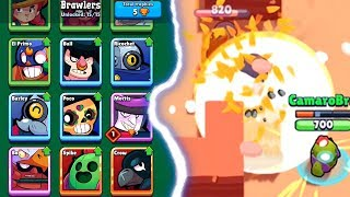 ALL CHARACTERS UNLOCKED | Brawl Stars | Supercells NEW Game!