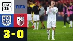Three Lions siegen bei Abschied von Wayne Rooney: England - USA 3:0 | Testspiel | DAZN Highlights